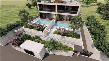 Luksuzni dvoetažni apartman s bazenom u Vinjercu – Novogradnja