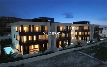 Prekrasan penthouse apartman u vrlo kvalitetnoj novogradnji, Vinjerac