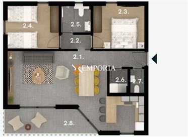 Apartmani s odličnim pogledom, kvalitetna i moderna novogradnja, Sveti Filip i Jakov