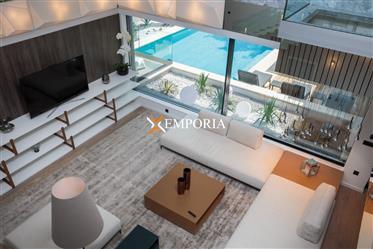 Luksuzna vila s bazenom i pogledom na more - Diklo