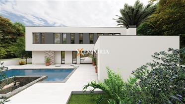 Nova moderna vila s bazenom u Zatonu blizu Zadra, Hrvatska