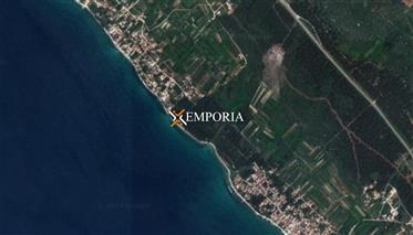 Urbanized Land With Sea View, Close To Zadar