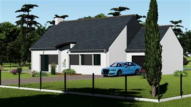 New 2-3 Bed Bungalow In South Brittany