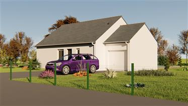 New 2-3 Bed Bungalow in the Corrèze