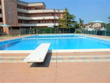 Appartamento ristrutturato con piscina