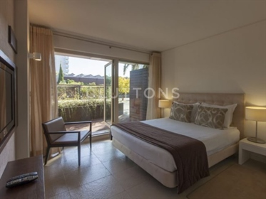 2 Bedroom apartment with private pool and garden, in front o...
