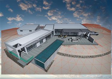 Silves sector Land of 11Ha private or tourist construction p...