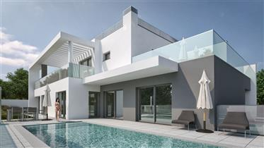 Contemporary house, new construction in Loulé