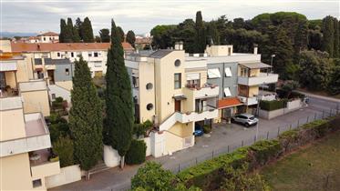 Un Grande appartamento con giardino e garage taverna a Cecina