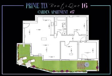 Brand New Garden Apartment 17/16