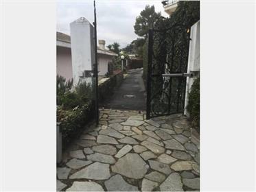 Villa con terrazze, pineta di Arenzano fronte mare