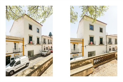 Building with 349m2 and backyard of 103m2 | Old town (Évora)