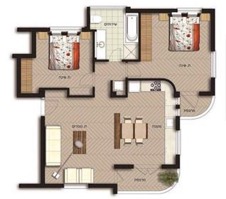 Superb apartment in the heart of Tel Aviv