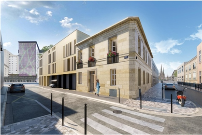 Bordeaux - Apartment T4 with terrace, lift and parking