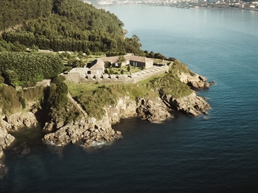 Authentic 18th century fort completely restored by the sea