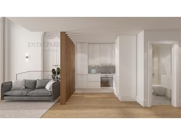 2 apartments T0 communicative, next to the bridge D Luís I, to buy in Vila Nova de Gaia E