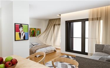 Apartamento T2 com varanda em projeto junto a todo tipo de c...