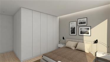 Fantástico apartamento T2 em projeto, acabamentos de primeira, Matosinhos Sul.