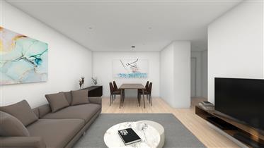Fantástico apartamento T2 em projeto, acabamentos de primeira, Matosinhos Sul