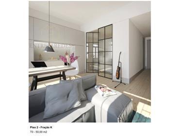 Lindo apartamento T0+1 em prédio reabilitado, excelente para habitação e investimento