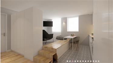 Apartamento T0+1 funcional e confortável - Espinho