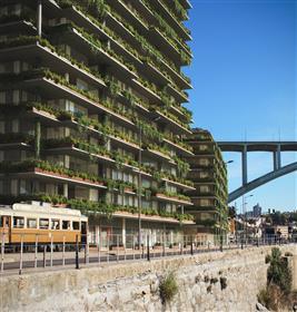 Apartamento T3 marginal do Rio Douro