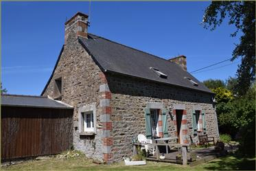 Charming two-bed house with two gîtes and a large garden just twenty minutes from the coast