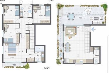 Neuf Magnifique penthouse duplex vue mer Rishon Le Tsyon à un prix imbattable