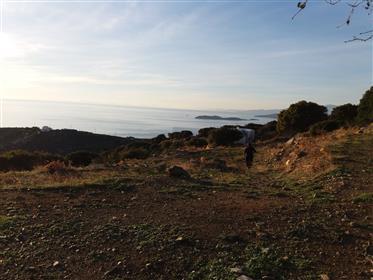 Οικόπεδο με υπέροχη θέα Απρόβατο Άνδρου