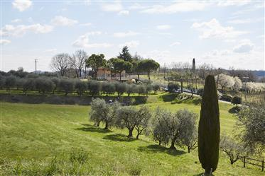 Residence with Park south of Lake Garda, panoramic and wide ...