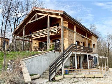 Maison Villeneuve-lès-Charnod 7 pièce(s) 215 m2