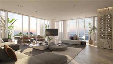 Rare Penthouse In Meier On Rothschild Tower