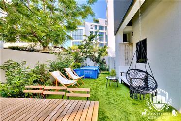 Appartement jardin a vendre