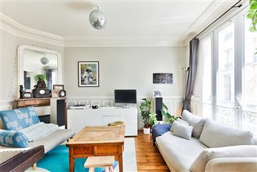 Appartement familial haussmannien