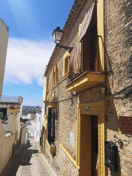 Magnífica casa típicamente andaluza, con terraza con una vista panorámica del encantador p