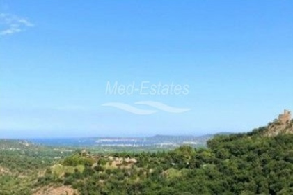 Grimaud -  Newly Built Villa With Great Views Onto The Village And The SEA