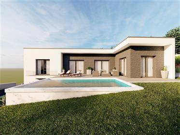 Haus Cotemporanea im Bau mit ausgezeichneter Lage