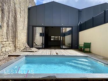 Neuf Maison d'architecte, style loft, quartier Chartrons-Not...