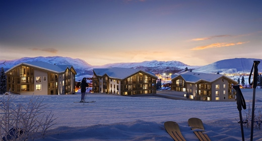 Ski in and out luxury 3 double bedroom apartments just seconds from the Bergers ski lifts