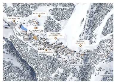 Luxury off plan 4 bedroom chalet for sale in Courchevel delivering end of 2021 (A)