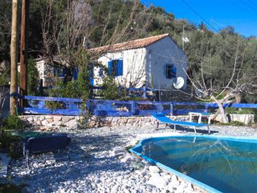 Stone Cottage of 72 sqm on a coast village of Leonidion area