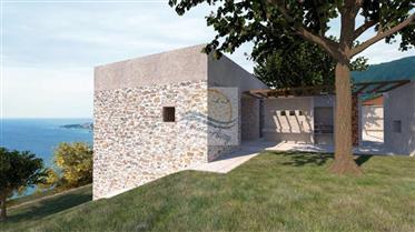 Terreno con vista mare e progetto approvato in vendita a Osp...
