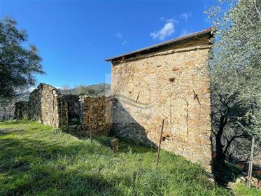 Rustico vista mare in vendita a Bordighera frazione Sasso.