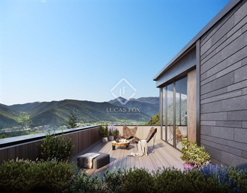 The Mirador d'Anyos new development enjoys an excellent location in the middle of a wonder