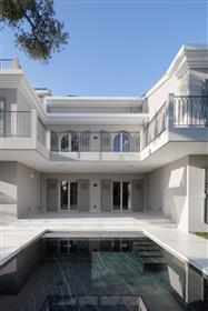 Newly built house in French Riviera.