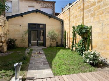 Appartement d'exception avec jardin dans Bordeaux