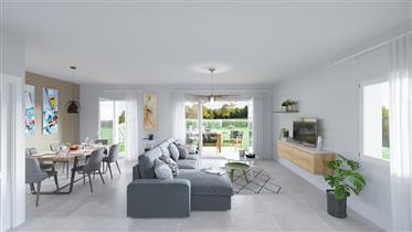 Maison neuve en Duplex avec un jardin de 200m²