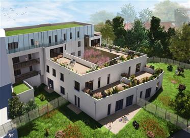 Appartement T4 de 100m² avec 300m² de jardin privatif