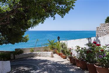 Mágnificas e inmejorables vistas desde esta amplia propiedad situada a unos pocos metros de la Playa