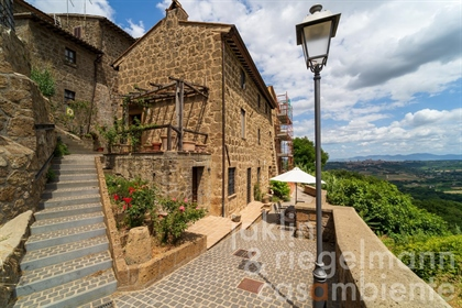Beautiful newly restored townhouse in a historic village 5 km from the centre of Orvieto